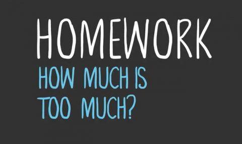"""Ödevlerde """"çok fazla"""" ne kadardır?"""